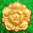 Flower pattern in traditional Thai style — Stock Photo