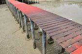 Sea pier — Stock Photo