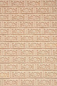 Thai style art brick wall texture pattern background picture — Stock Photo