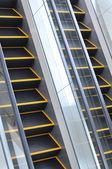 The escalator — Stock Photo