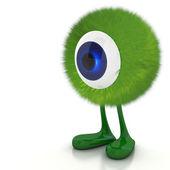 Single eye monster — Stock Photo