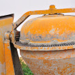 Portable concrete mixer — Stock Photo