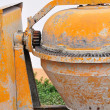 Portable concrete mixer — Stock Photo #22557035