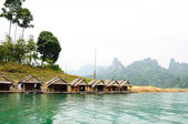 Ratchaprapa Dam,Khao Sok,Thailand — Stock Photo