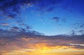 Twilight sky — Stock Photo