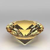 3d Diamond isolated — Stockfoto