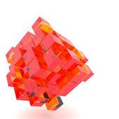 3d illustration grundläggande geometriska former — Stockfoto