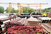 Overhead crane for factory — Stock Photo