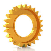 Golden Gear — Stock Photo