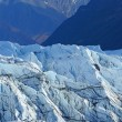 Stock Photo: Mountain and glacier