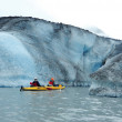 Stock Photo: Glacier kayak