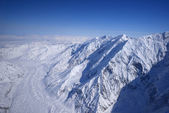 Alaska snow mountain — Foto Stock