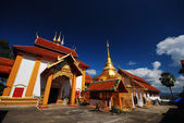 Northern Thai temple — Stock Photo