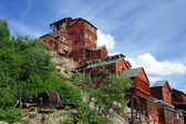 Abandoned copper mine — Stock Photo