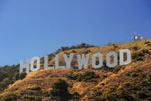 Hollywood on hill — Stock Photo