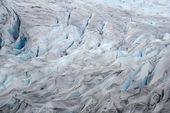 Alaska'da buzul — Stok fotoğraf