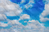 Concetto di cloud computin — Photo