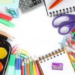 School stationery — Stock Photo #13465521