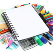 Stationery items - Foto de Stock  