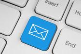 Botão de teclado de correio — Foto Stock