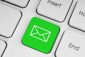 Mail keyboard button — Stock Photo