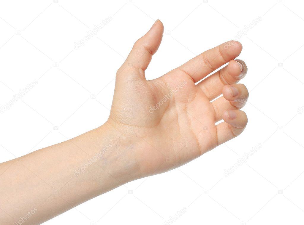Woman hand — Stock Photo © rozelt #13473158 Hand