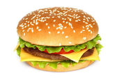 Stora hamburgare — Stockfoto
