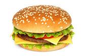 Velký hamburger — Stock fotografie