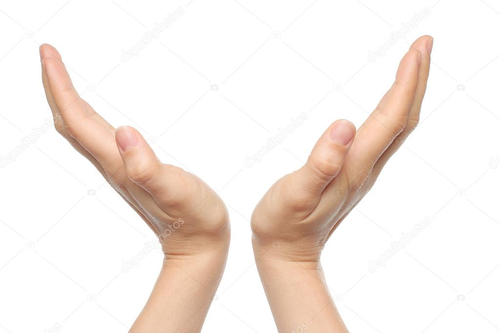 Dos mujeres orinar tomados de la mano