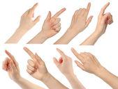 женщина руки — Стоковое фото