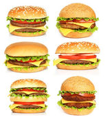 Big hamburgers — Stockfoto