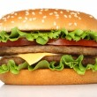 Big hamburger — Stockfoto
