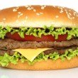Big hamburger — Foto Stock