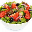 Salad of fresh vegetables — Foto Stock