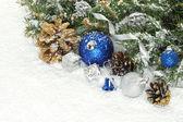 Vánoční složení — Stockfoto