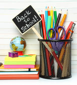 School-office stationery — Foto Stock