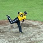 Baseball pitcher — Stock Photo #12755633