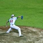 Baseball pitcher — Stock Photo #12755812