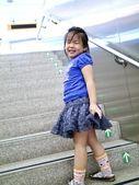 Linda niña sonriente — Foto de Stock