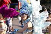 Samba carnival dancer — Stock Photo