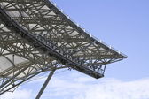 Rooftop structure of stadium — Stock Photo
