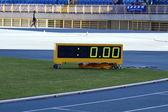 Digital sport hourmeter — Stock Photo