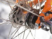 части велосипедов — Стоковое фото