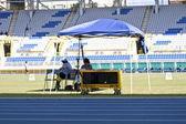 Competição de atletismo — Foto Stock