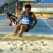 Track and field competition — 图库照片