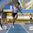 Track and field competition — Foto Stock