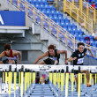 Track and field competition — Stockfoto