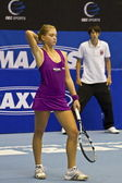 Professionele tennisspel — Stockfoto