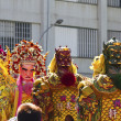Stock Photo: Chinese god puppets