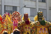 Chinese god puppets — Stock Photo